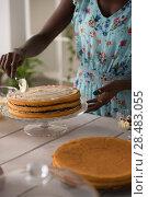 Купить «Unrecognizable Woman Cooking at home. Dessert Concept. Healthy Lifestyle. Cooking At Home. Prepare Food», фото № 28483055, снято 1 декабря 2014 г. (c) Ingram Publishing / Фотобанк Лори