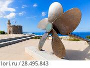Купить «Ciutadella Castell de Sant Nicolas Castillo San Nicolas in Ciudadela Baleari Islands», фото № 28495843, снято 26 мая 2013 г. (c) Ingram Publishing / Фотобанк Лори