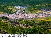 Купить «Menorca es Mercadal aerial view from Pico del Toro in Balearic islands», фото № 28495963, снято 30 мая 2013 г. (c) Ingram Publishing / Фотобанк Лори