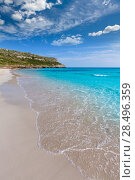 Купить «Alaior Cala Son Bou in Menorca turquoise beach at Balearic islands», фото № 28496359, снято 26 мая 2013 г. (c) Ingram Publishing / Фотобанк Лори