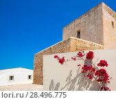 Купить «Formentera Sant Francesc San Francisco Javier church in Balearic Islands», фото № 28496775, снято 29 июня 2013 г. (c) Ingram Publishing / Фотобанк Лори