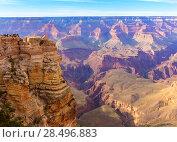 Купить «Arizona Grand Canyon National Park Mother Point in USA», фото № 28496883, снято 14 апреля 2013 г. (c) Ingram Publishing / Фотобанк Лори