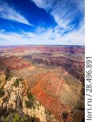 Купить «Arizona Grand Canyon National Park Yavapai Point USA», фото № 28496891, снято 13 апреля 2013 г. (c) Ingram Publishing / Фотобанк Лори