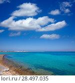 Купить «Denia Alicante Marineta Casiana beach in Spain Valencian Community», фото № 28497035, снято 14 августа 2013 г. (c) Ingram Publishing / Фотобанк Лори