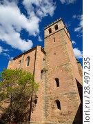Купить «Mora de Rubielos in Teruel Aragon stonewall village», фото № 28497235, снято 5 октября 2013 г. (c) Ingram Publishing / Фотобанк Лори