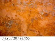 Купить «Ibiza mediterranean wall textures in orange concrete wall», фото № 28498155, снято 7 июня 2013 г. (c) Ingram Publishing / Фотобанк Лори