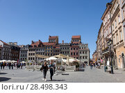 Купить «Варшава. Рыночная площадь старого города», фото № 28498343, снято 5 мая 2018 г. (c) Воробьева Анна / Фотобанк Лори
