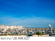 Купить «Alcossebre alcoceber marina port in Castellon of Valencian community spain», фото № 28498627, снято 18 августа 2019 г. (c) Ingram Publishing / Фотобанк Лори