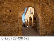Купить «Benassal Arc de la Mola Benasal in Maestrazgo Castellon at spain», фото № 28498695, снято 7 ноября 2007 г. (c) Ingram Publishing / Фотобанк Лори