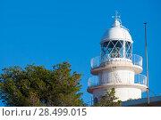 Cabo de San Antonio Cape Lighthouse in Denia Javea of Alicante in Mediterranean Spain (2006 год). Стоковое фото, фотограф Tono Balaguer / Ingram Publishing / Фотобанк Лори