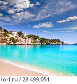 Купить «Porto Cristo beach in Manacor Majorca Mallorca Balearic islands», фото № 28499051, снято 31 мая 2005 г. (c) Ingram Publishing / Фотобанк Лори