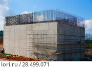 Купить «Reinforced concrete basement column for high speed train bridge in Spain», фото № 28499071, снято 19 октября 2007 г. (c) Ingram Publishing / Фотобанк Лори