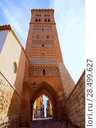Купить «Aragon Teruel Torre de San Martin Mudejar UNESCO heritage in Spain», фото № 28499627, снято 1 ноября 2013 г. (c) Ingram Publishing / Фотобанк Лори