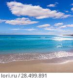 Купить «Alicante Postiguet beach at Mediterranean sea in Spain valencian community», фото № 28499891, снято 21 января 2014 г. (c) Ingram Publishing / Фотобанк Лори