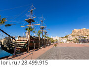 Купить «Alicante marina port boats in Mediterranean Spain Valencian Community», фото № 28499915, снято 21 января 2014 г. (c) Ingram Publishing / Фотобанк Лори