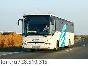 Купить «Irisbus Crossway 12M», фото № 28510315, снято 6 октября 2016 г. (c) Art Konovalov / Фотобанк Лори
