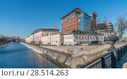 Купить «Водоотводной канал», фото № 28514263, снято 24 марта 2018 г. (c) Виктор Тараканов / Фотобанк Лори