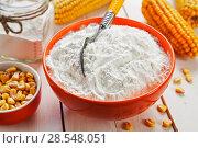 Купить «Starch and corn cob», фото № 28548051, снято 18 марта 2018 г. (c) Надежда Мишкова / Фотобанк Лори