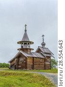 Купить «Kizhi Pogost, Russia», фото № 28554643, снято 24 июля 2017 г. (c) Boris Breytman / Фотобанк Лори