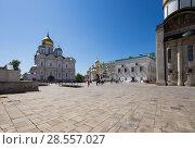 Купить «Inside of Moscow Kremlin, Russia (day)», фото № 28557027, снято 11 мая 2018 г. (c) Владимир Журавлев / Фотобанк Лори