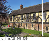 Купить «The Merchant Adventurers Hall a historic medieval guildhall in York Yorkshire England.», фото № 28568539, снято 19 апреля 2018 г. (c) age Fotostock / Фотобанк Лори