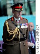 Купить «The Mayor of London, Sadiq Khan, Chairman of the London Assembly, ...», фото № 28569807, снято 11 ноября 2016 г. (c) age Fotostock / Фотобанк Лори