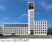 Купить «Ратуша Штутгарта, Германия», фото № 28575647, снято 21 мая 2018 г. (c) Михаил Марковский / Фотобанк Лори