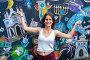 Купить «Girl in Szeroka street, Jewish Culture Festival in Krakow, Poland.», фото № 28609623, снято 17 августа 2017 г. (c) age Fotostock / Фотобанк Лори