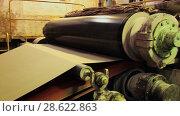 Купить «Recycling of garbage Cardboard paper production», видеоролик № 28622863, снято 14 июня 2018 г. (c) Aleksejs Bergmanis / Фотобанк Лори