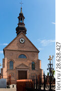 Купить «Old landmark Sw. Marcina Church is located in Poland», фото № 28628427, снято 11 мая 2018 г. (c) Яков Филимонов / Фотобанк Лори