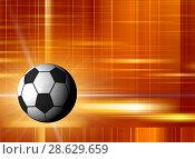 Купить «Football illustration for championship», иллюстрация № 28629659 (c) ElenArt / Фотобанк Лори