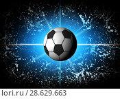 Купить «Football illustration for championship», иллюстрация № 28629663 (c) ElenArt / Фотобанк Лори