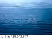 Купить «Water surface texture as background», фото № 28643847, снято 3 июня 2018 г. (c) Татьяна Белова / Фотобанк Лори