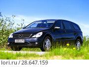 Купить «Mercedes-Benz W251 R350», фото № 28647159, снято 27 июня 2018 г. (c) Art Konovalov / Фотобанк Лори