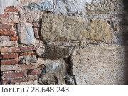Купить «Old wall texture», фото № 28648243, снято 20 июля 2018 г. (c) Яков Филимонов / Фотобанк Лори