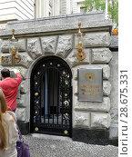 Вход в посольство Российской Федерации в Берлине. Германия. Стоковое фото, фотограф Евгений Ткачёв / Фотобанк Лори