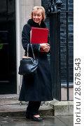 Купить «Ministers attend the weekly Cabinet meeting at 10 Downing Street Featuring: Andrea Leadsom Where: London, United Kingdom When: 13 Dec 2016 Credit: WENN.com», фото № 28678543, снято 13 декабря 2016 г. (c) age Fotostock / Фотобанк Лори