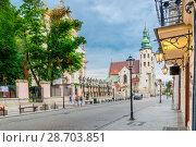 Купить «Beautiful church of Peter and Paul in Krakow», фото № 28703851, снято 13 августа 2017 г. (c) Константин Лабунский / Фотобанк Лори