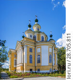 Купить «Ascension Cathedral, Totma, Russia», фото № 28705811, снято 15 августа 2017 г. (c) Boris Breytman / Фотобанк Лори