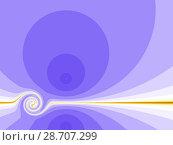 Купить «Purple background with spiral», иллюстрация № 28707299 (c) Любовь Назарова / Фотобанк Лори
