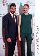 Купить «BAFTA nominations photo call - Dominic Cooper and Sophie Turner are joined by Jane Lush at the announcement of the EE British Academy Film Awards 2017...», фото № 28716627, снято 10 января 2017 г. (c) age Fotostock / Фотобанк Лори