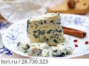Купить «Мягкий сыр с плесенью», фото № 28730323, снято 9 июля 2018 г. (c) Natalya Sidorova / Фотобанк Лори
