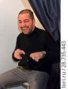 Купить «Mercedes-Benz Fashion Week Autumn/Winter 2017 - Racks & Rookies Frontin Release Party at Kitty Cheng Bar Featuring: Buelent Sharif Where: Berlin, Germany When: 19 Jan 2017 Credit: AEDT/WENN.com», фото № 28735443, снято 19 января 2017 г. (c) age Fotostock / Фотобанк Лори