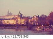 Купить «View of Prague», фото № 28738543, снято 20 ноября 2011 г. (c) Яков Филимонов / Фотобанк Лори