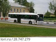 Купить «Коломна. Автобус городской Mersedes-Benz O345 Conecto приближается к мосту через реку Коломенка», фото № 28747279, снято 27 мая 2007 г. (c) Дмитрий Щукин / Фотобанк Лори