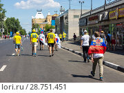 Купить «Совнаркомовская улица. Нижний Новгород», фото № 28751451, снято 18 июня 2018 г. (c) Владимир Макеев / Фотобанк Лори