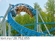 Купить «A popular attraction is the Russian roller coaster.», фото № 28752055, снято 15 июля 2018 г. (c) Александр Клопков / Фотобанк Лори