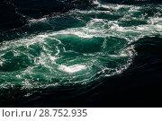 Купить «View to Saltstraumen whirlpools, Norway», фото № 28752935, снято 22 июля 2017 г. (c) Сергей Майоров / Фотобанк Лори