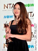Купить «The 2017 National Television Awards held at the O2 - winners' board. Featuring: Lacey Turner Where: London, United Kingdom When: 25 Jan 2017 Credit: Daniel Deme/WENN.com», фото № 28756027, снято 25 января 2017 г. (c) age Fotostock / Фотобанк Лори