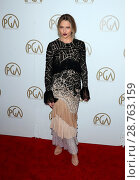 Купить «28th Annual Producers Guild Awards at The Beverly Hilton Hotel - Arrivals Featuring: Teresa Palmer Where: Beverly Hills, California, United States When: 28 Jan 2017 Credit: FayesVision/WENN.com», фото № 28763159, снято 28 января 2017 г. (c) age Fotostock / Фотобанк Лори